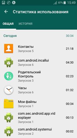 программа родительский контроль для андроид